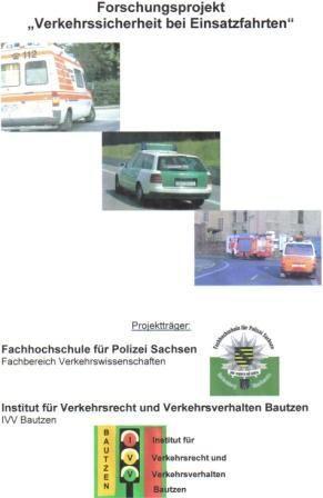 Poster Verkehrssichere Einsatzfahrten